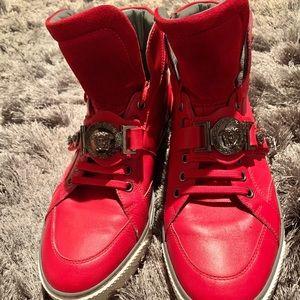 Versace Leather & Suede kicks